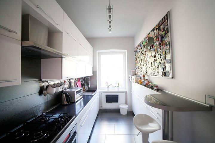 Kitchen with breakfast corner
