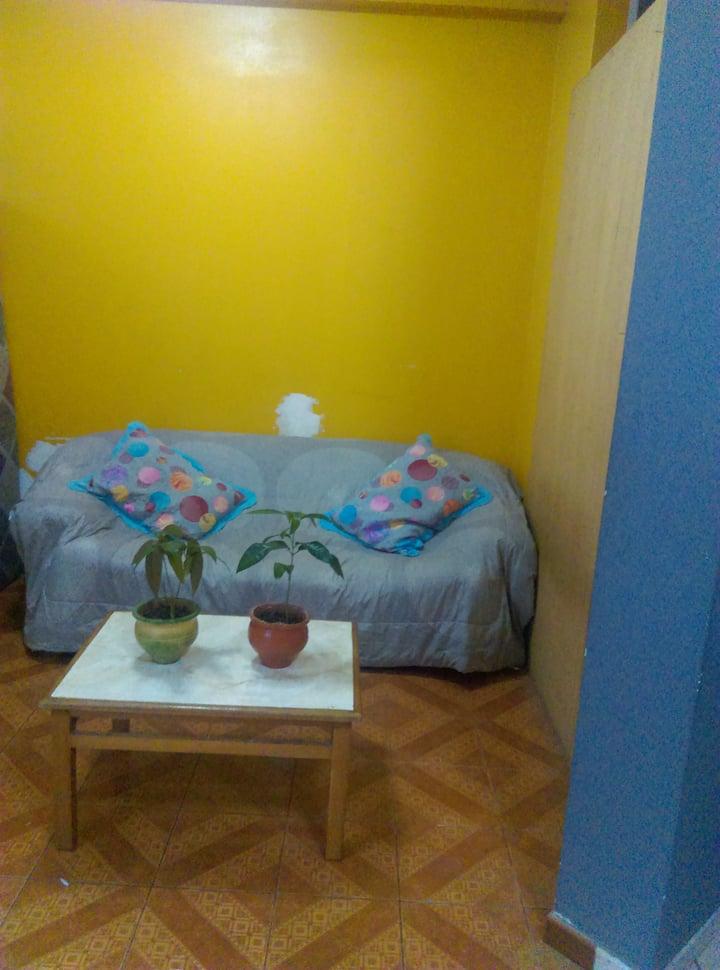 Sala de estar y lectura