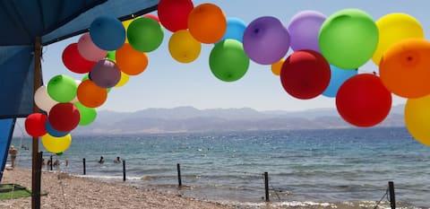 Wonderful tent in the best beach