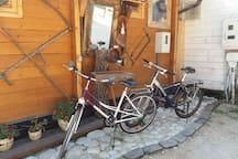 2 Leihfarräder Damen / Herren  pro Woche 50€ pro Fahrrad Kaution. Wird bei Rückgabe erstattet. Bei Interesse bitte E-Mail schreiben