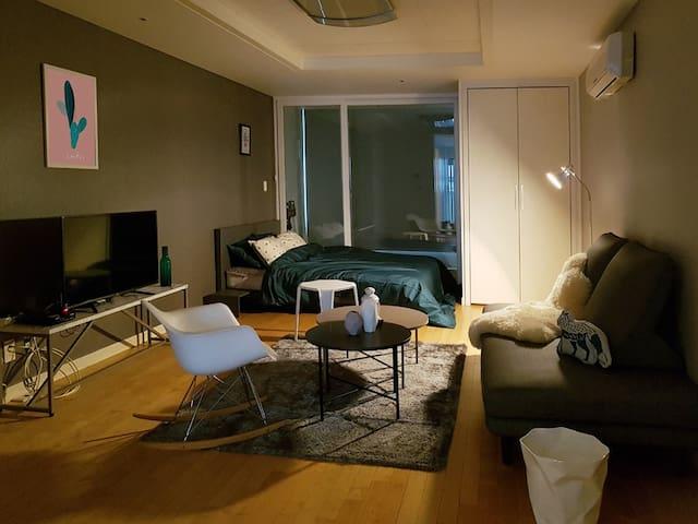 ♡New OPEN♡ Lovely Studio in Gangnam area - Gangnam-gu - Appartement