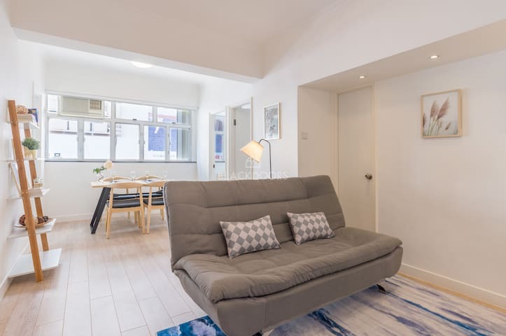 Best Location: A Cozy Home in the Heart of HK