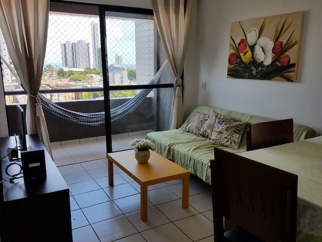 Apartamento aconchegante em Ponta Negra