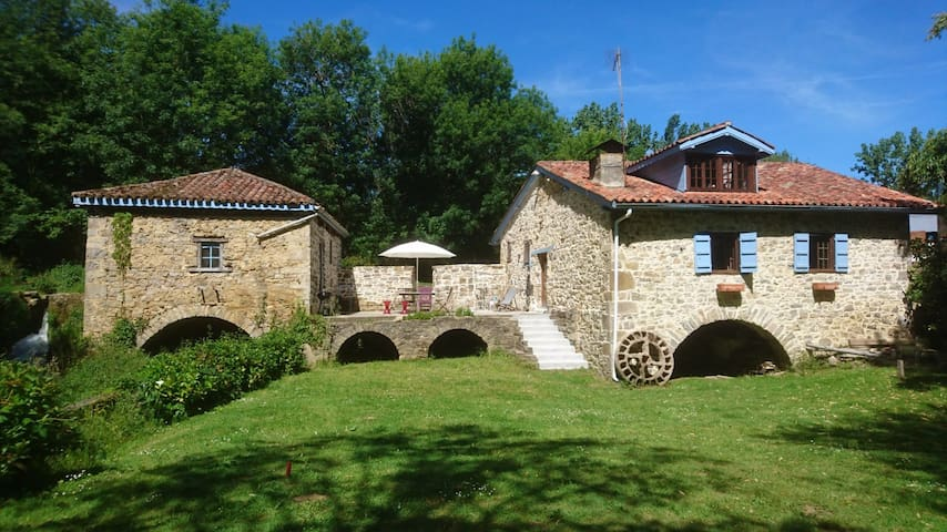 Gite Moulin d'Olce Iholdy (Pays Basque)