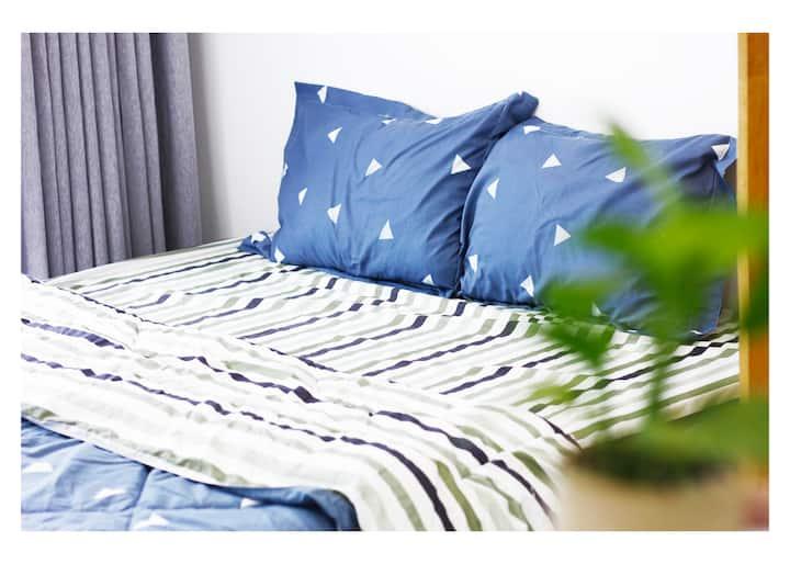 SuCha - Private room| Private BA| Balcony| F.2
