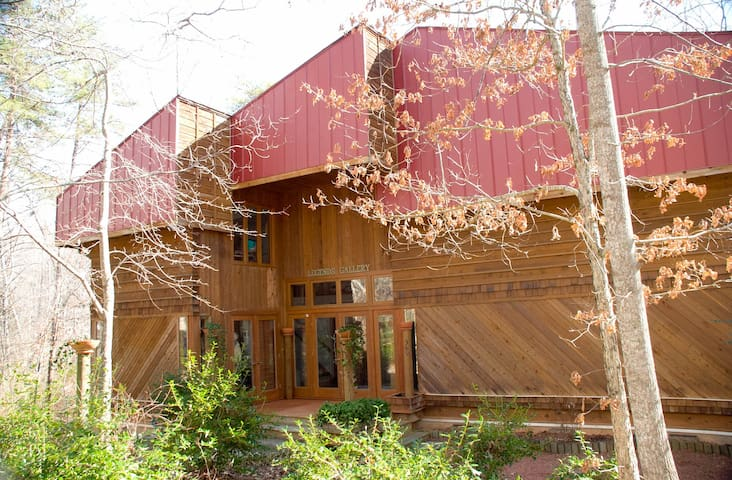 "Tranquil ""Treehouse"" in the woods - Summerfield - Casa"
