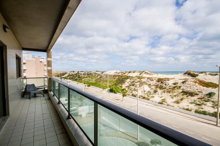 2-Areia Azul-Frente à Praia