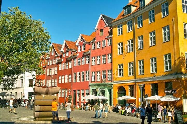 房间在哥本哈根的心脏 - Kopenhagen - Appartement