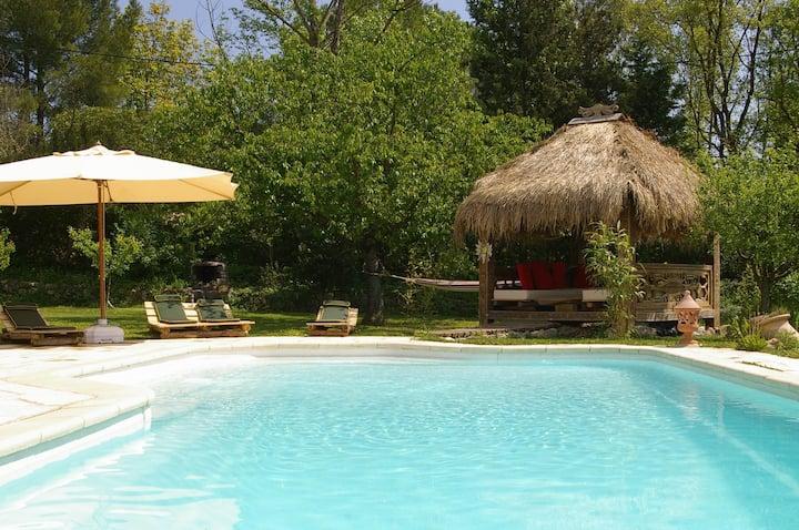 Gite climatisé avec Spa et sauna privatifs
