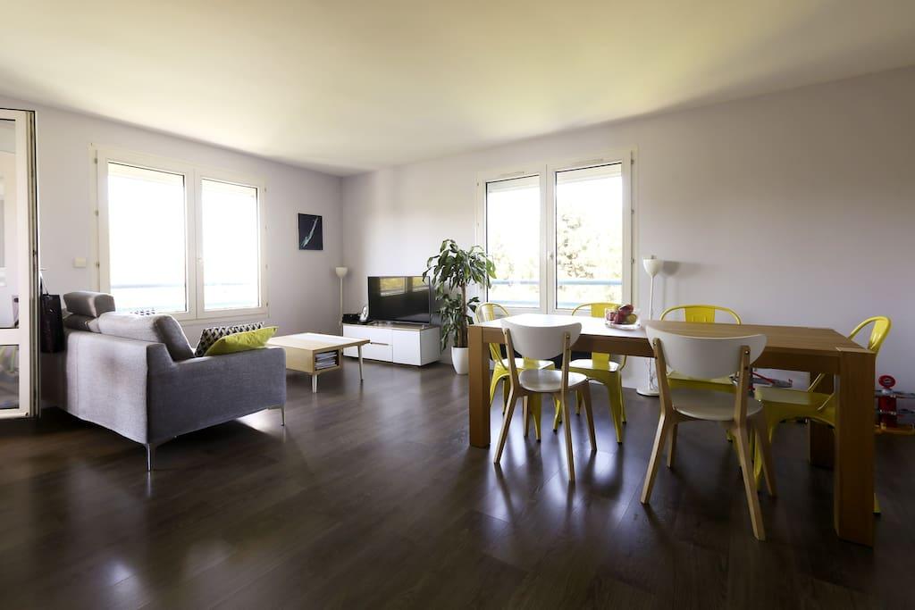Chambre chez l 39 habitant appartements louer montigny - Chambre chez l habitant france ...