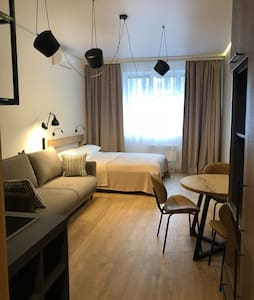 Cozy apartment in center (Уютная квартира студия)