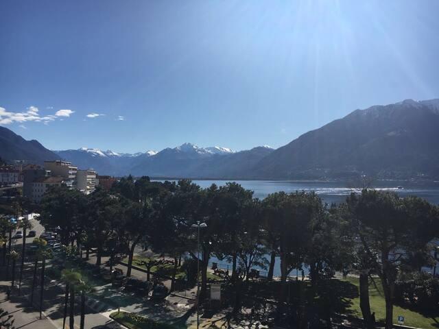 Wohnung mit Blick auf Lago Maggiore