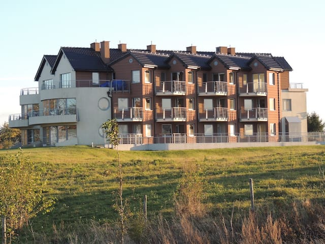 New 75 sq.m apartment with direct view at the Bay - Puck - Byt