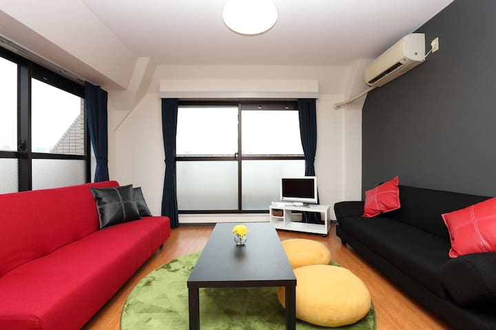 3min Osaka Sta. by train/Large house/Great view - Kashiwazato,Nishiyodogawa-ku,Osaka - 아파트