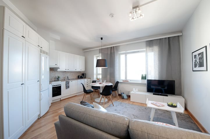 High-class apartment in the center of Helsinki - Helsinki - Daire