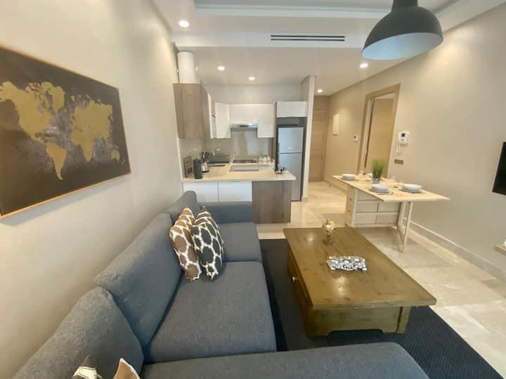 Appartement confortable et ensoleillé, belle vue