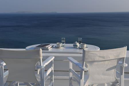 Villa Lia (50 meters from a private beach) - Tinos - Villa