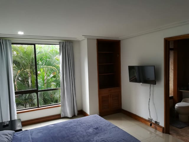 Comfortable master bedroom in the best location