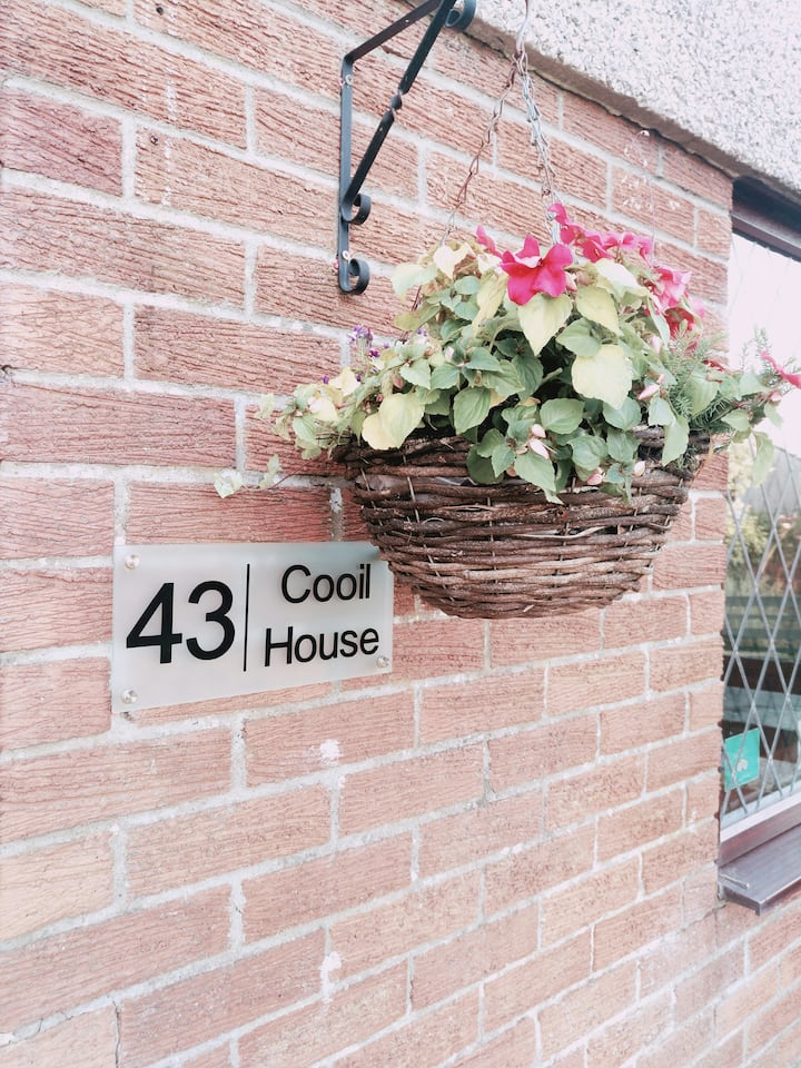 3 Bedroom Self Catering House in Douglas. 4 Star