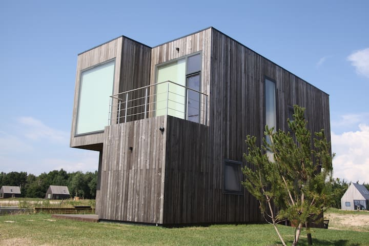 House in Svencele by Curonian Lagoon