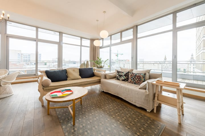 Smartflats Antwerp Central 601 -1Bed Terrace -Meir