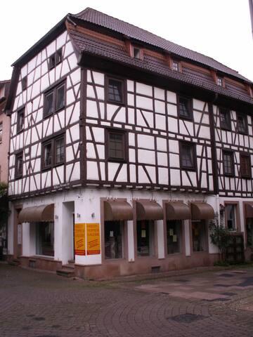 Ferienhaus Eberbach Appartement 1