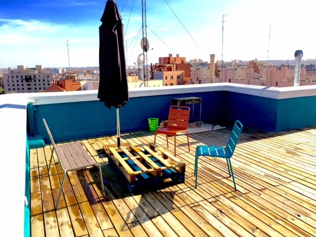 Modern apartment with rooftop in the city center - Madrid - Condominium