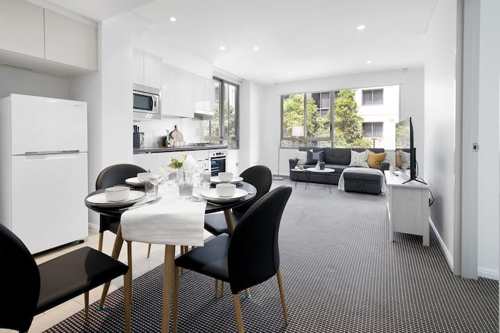 Brand New 1Br In Macquarie Centre W/ Sauna+park