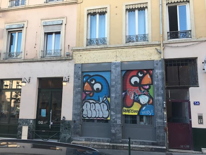 """Studio proche du coeur de Lyon """"Bobo"""""""