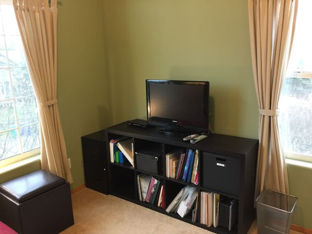 Second bedroom has a tv and can also serve as a private living room