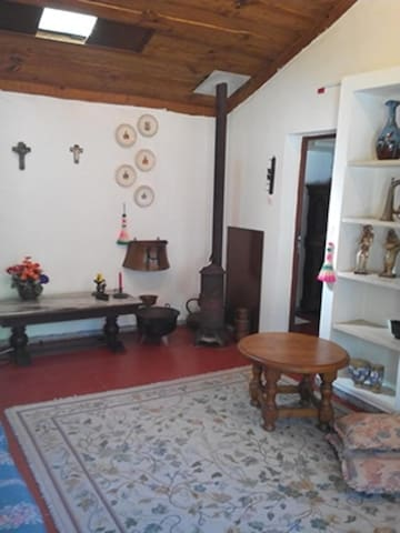 Lounge showing entrance to room