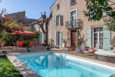 Elegant Holiday Home in Olonzac with Private Swimming Pool