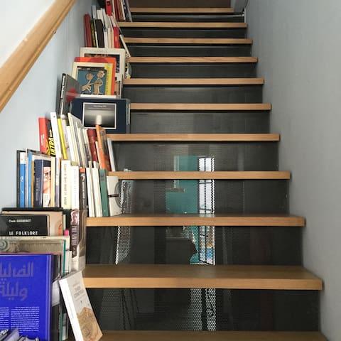 Escalier pour la chambre