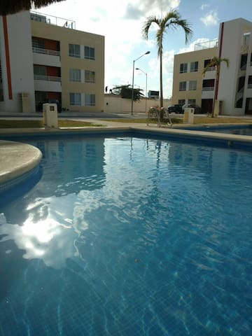 Beautiful Department with pool!! - Cancún  - Apartment