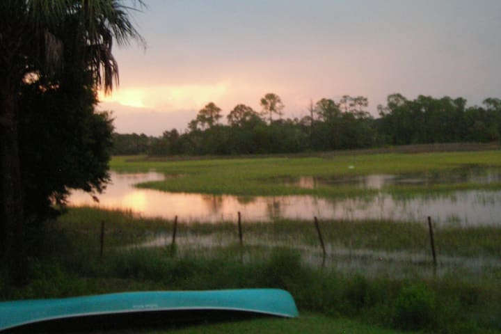 St Augustine Campsite (Moon Dolphin #1)