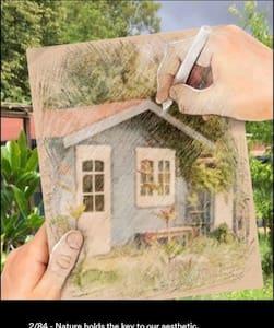 Eco House on oliv farm near beach - Brgod - Haus