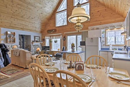 House on 10 Acres Overlooking Chippewa River!