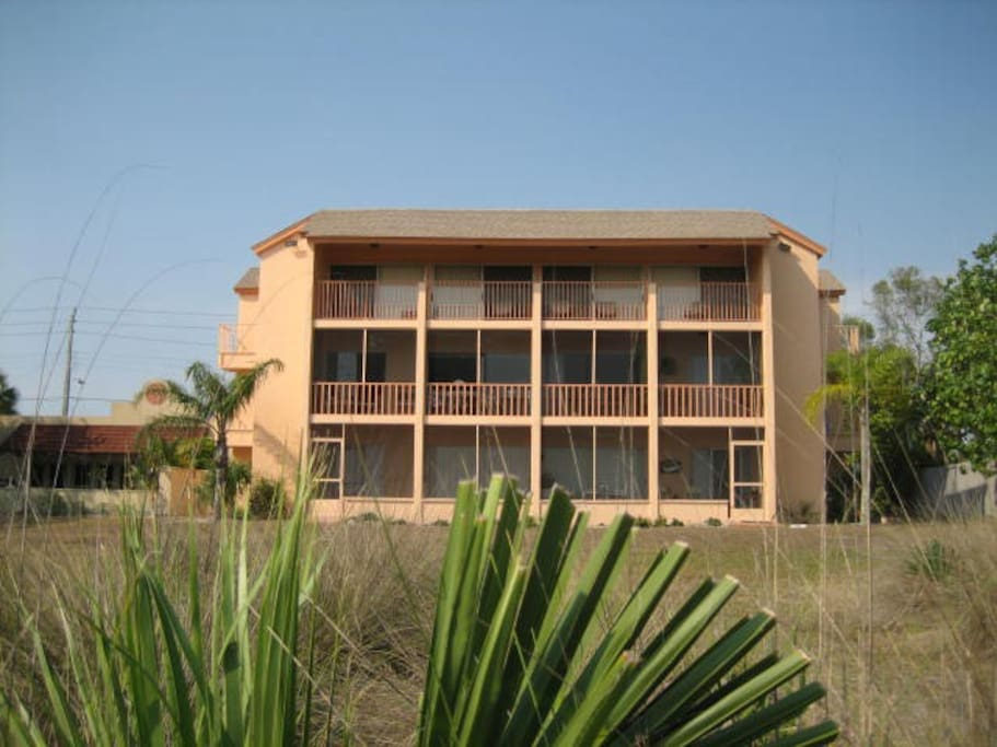 Backside of our condo