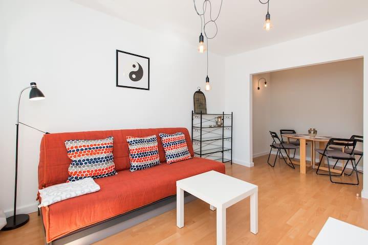 Sunny & Cosy Home for 4 - Cracóvia - Apartamento