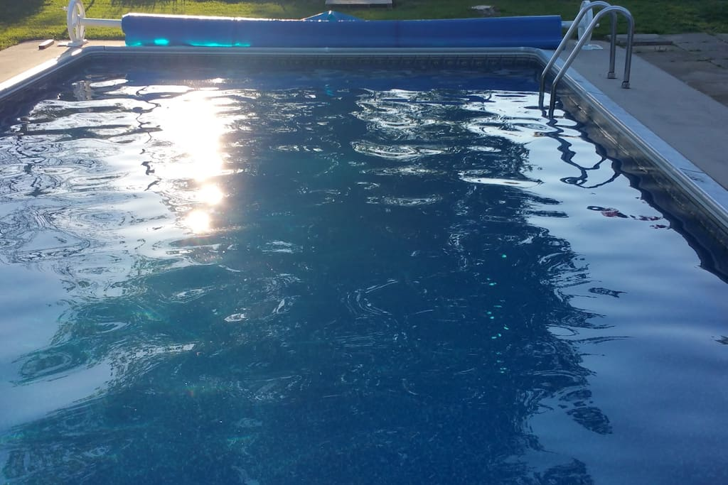 Heated In-ground Pool
