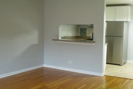 1 Bed Room Condo + Kitchen in Skokie IL - Skokie