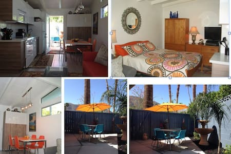 Mid Century Casita Private 1BR Full BA Views