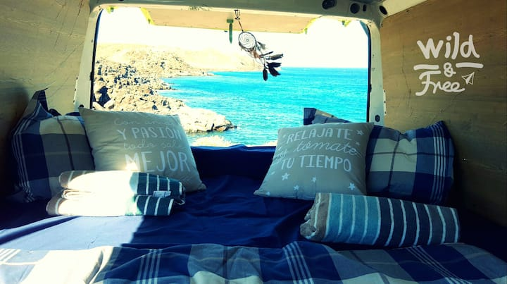 Rent your VW campervan & discover the island