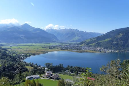 Cozy family chalet for beautiful panoramic view - Zell am See - Ferienunterkunft