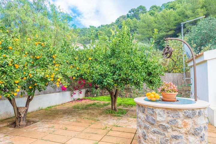 VILLA CATI - Beautiful townhouse with a great backyard and near the beach. Free WiFi