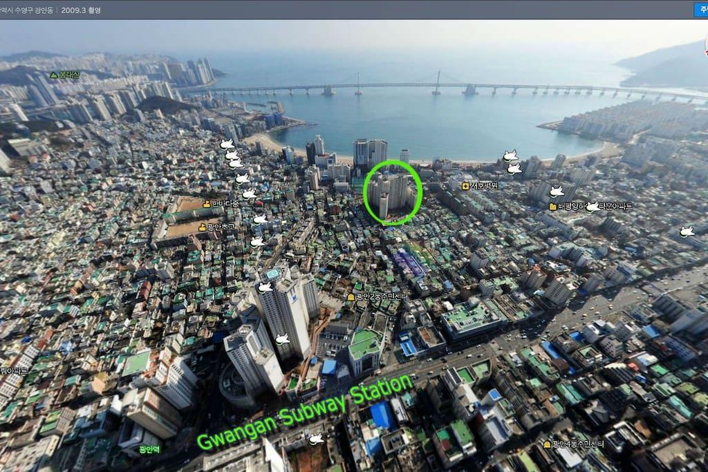 Gwangan Beach View Flats For Rent In Busan Busan South