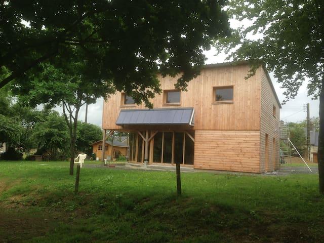 Maison écologique pour les amoureux de la nature