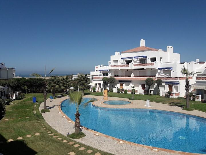 Appartement Passadena 2 Sidi Rahal vue sur mer