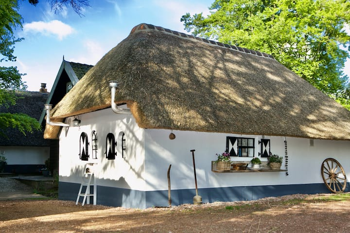 Old bakehouse at the Veluwe