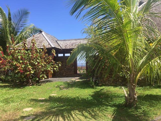 Villa 14 - Aremiti - 3 Room - View lagoon - Haapiti